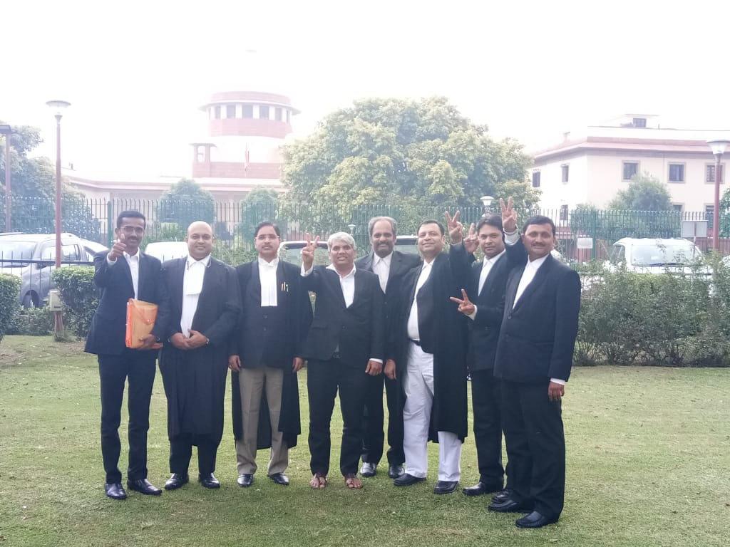Hearings at Supreme Court,New Delhi